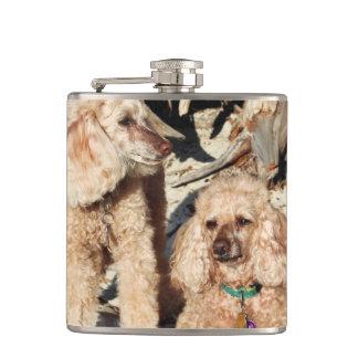 Leach - Poodles - Romeo Remy Hip Flask