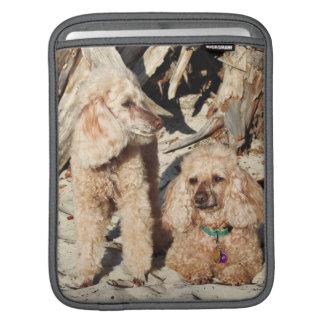 Leach - Poodles - Romeo Remy iPad Sleeve