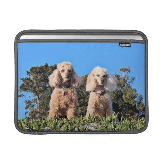 Leach - Poodles - Romeo Remy MacBook Sleeve