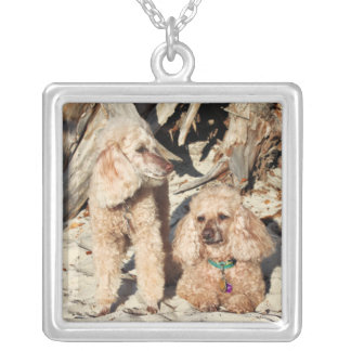 Leach - Poodles - Romeo Remy Silver Plated Necklace