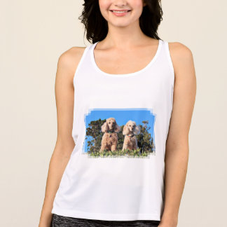 Leach - Poodles - Romeo Remy Singlet