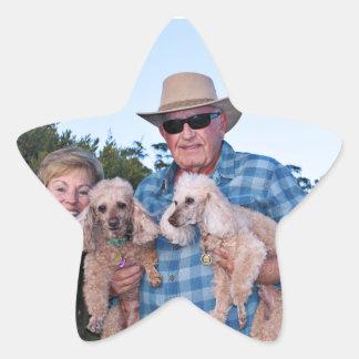 Leach - Poodles - Romeo Remy Star Sticker