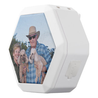 Leach - Poodles - Romeo Remy White Bluetooth Speaker
