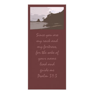 Lead and Guide Me - Psalm 31:3 Rack Card