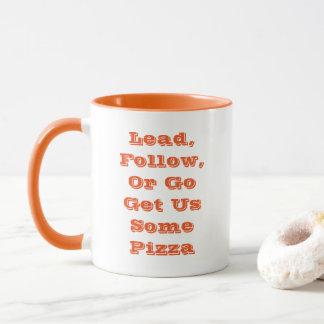 Lead, Follow, Or - A MisterP Mug