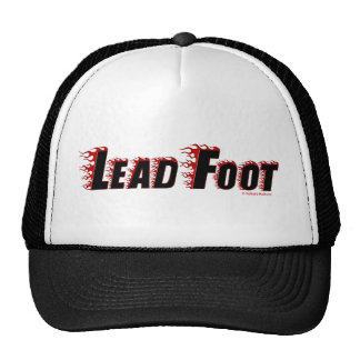Lead Foot Cap