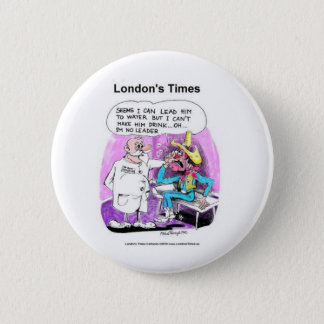 Lead Horse 2 Water Funny Tees Gifts Collectibles 6 Cm Round Badge