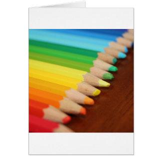 Lead Rainbow Card