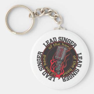 Lead Singer Key Ring