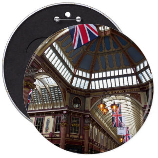 Leadenhall Market London Pinback Buttons