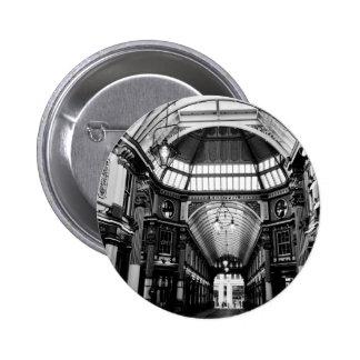 Leadenhall Market London Pinback Button
