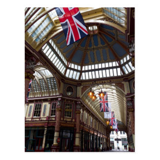 Leadenhall Market London Postcard