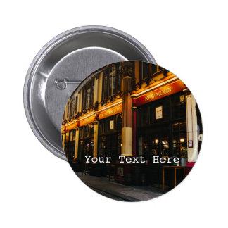 Leadenhall Market, London, United Kingdom 6 Cm Round Badge