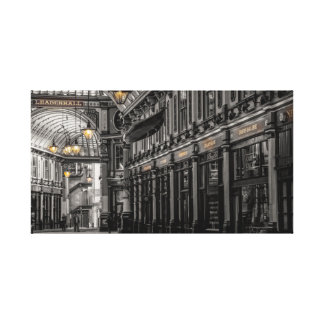 Leadenhall market wrapped canvas