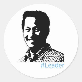 #Leader Sticker