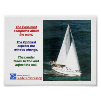 Leaders-Adjust-their-Sail Poster