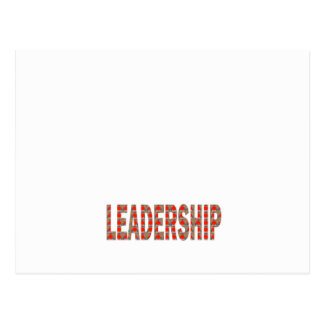 LEADERSHIP: Community, Business, Politics LOWPRICE Postcard