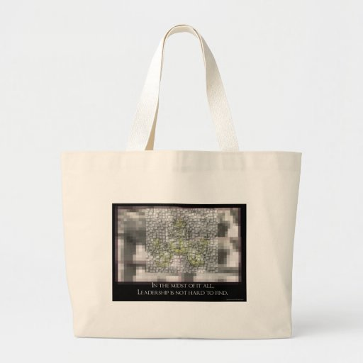 Leadership is not hard to Find Tote Bags