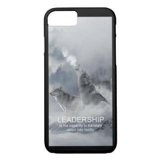 leadership motivational inspirational quote iPhone 8/7 case