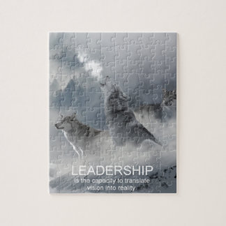leadership motivational inspirational quote jigsaw puzzle