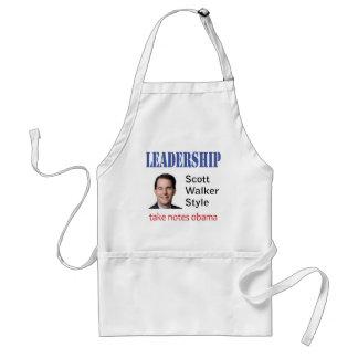 Leadership: Scott Walker style Adult Apron