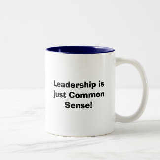 Leadership Two-Tone Coffee Mug