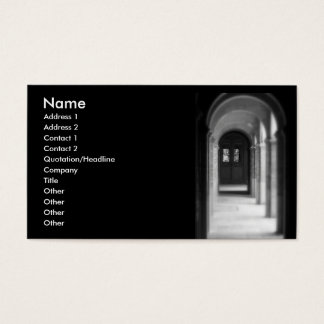 Leading to the gate/ Profile Card