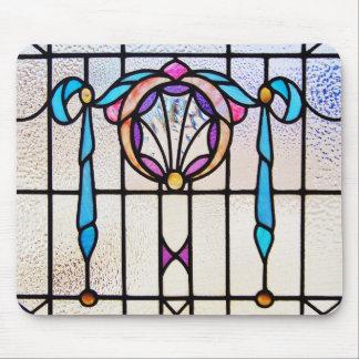 LEADLIGHT COLLECTION Art Nouveau Ribbon Mouse Pad
