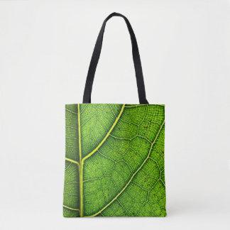 Leaf All-Over-Print Tote Bag