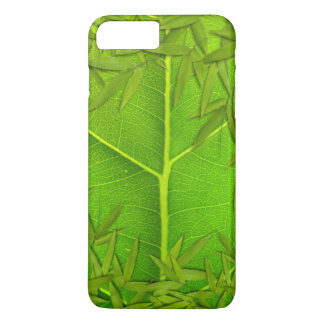 Leaf and Bamboo leaves iPhone 7 Plus Case