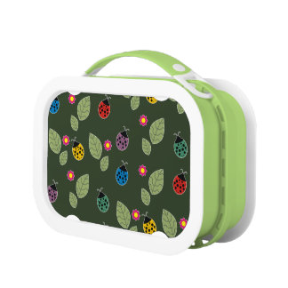 Leaf and beetle lunch box