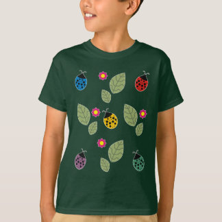 Leaf and beetle T-Shirt
