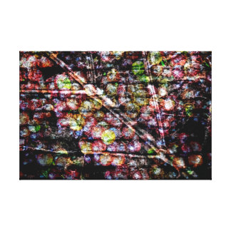 Leaf and Grapes in Acrylic Stretched Canvas Prints