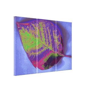Leaf Art 2 Stretched Canvas Print