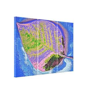 Leaf Art 3 Stretched Canvas Prints
