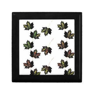 Leaf art gift box