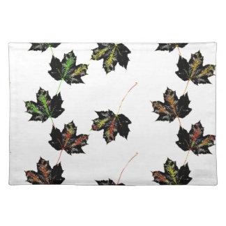 Leaf art placemat