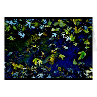 """Leaf Atlas"" JTG Art Greeting Card"