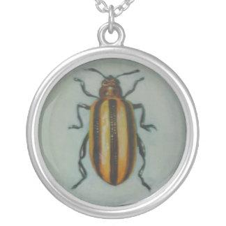 Leaf Beetle Pendants