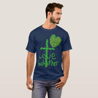 Leaf Bug: Love Eachother Cross T-shirt
