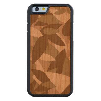 leaf camo carved® cherry iPhone 6 bumper case