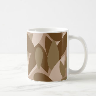leaf camo coffee mug