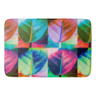 Leaf Colors Bath Mats