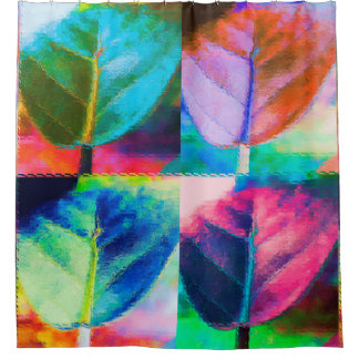 Leaf Colors Shower Curtain