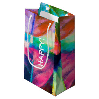 Leaf Colors Small Gift Bag