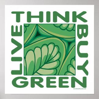 Leaf Design Print