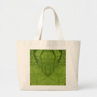 Leaf Digital Art Canvas Bag