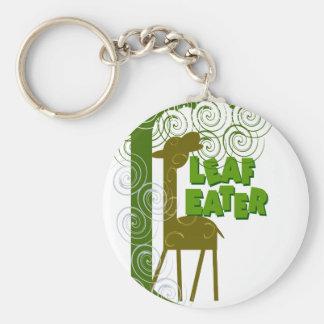 Leaf Eater Key Ring