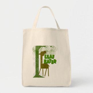 Leaf Eater Tote Bag