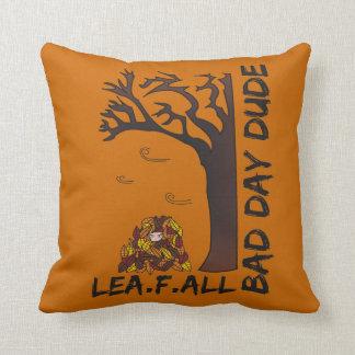 """""""Leaf Fall"""" Cushion - A Bad Day Dude Design"""